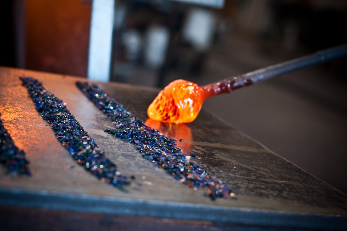 glass art making