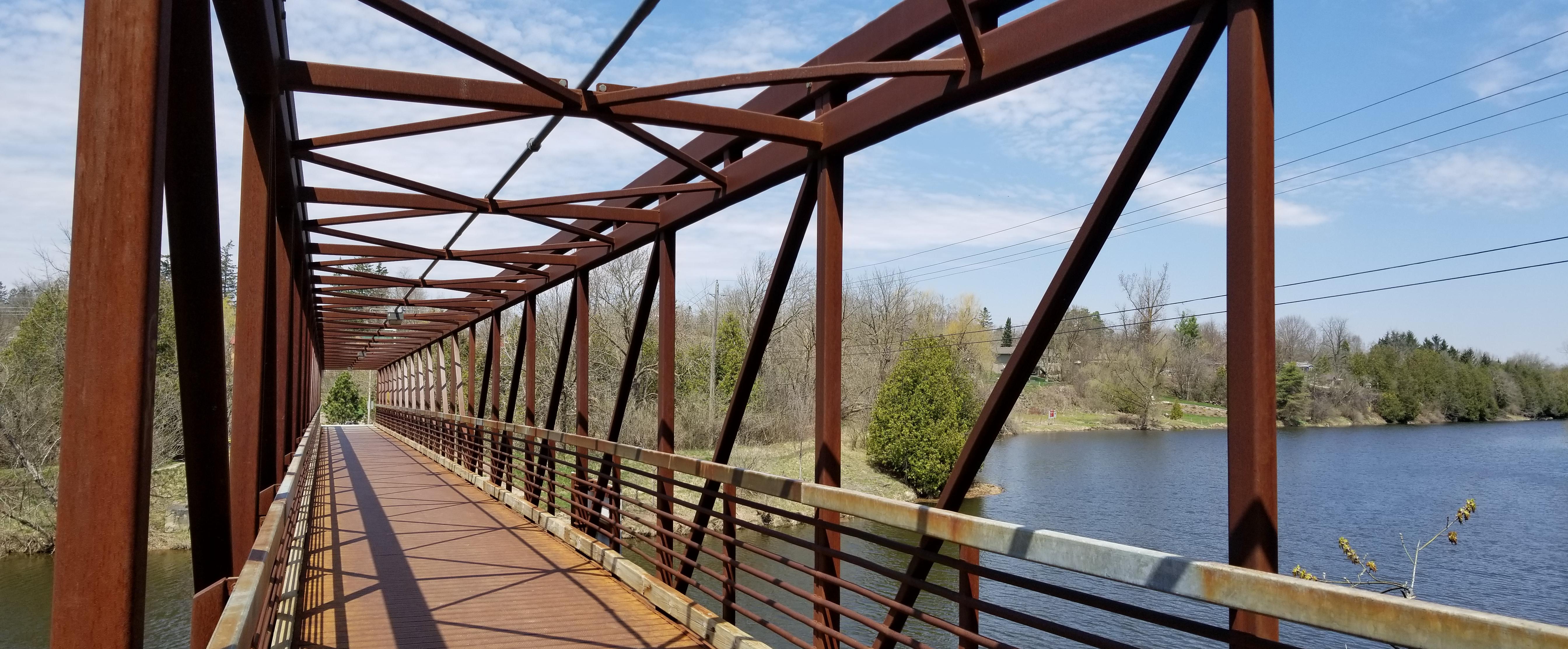 Bissel Park Pedestrian Bridge