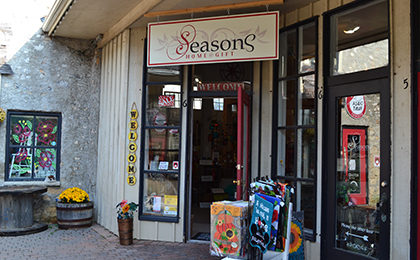 Seasons Home Decor store front