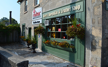 Steve's Sheepskin and Leather Shop store front
