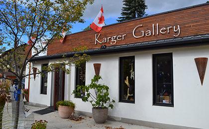 Karger Gallery storefront