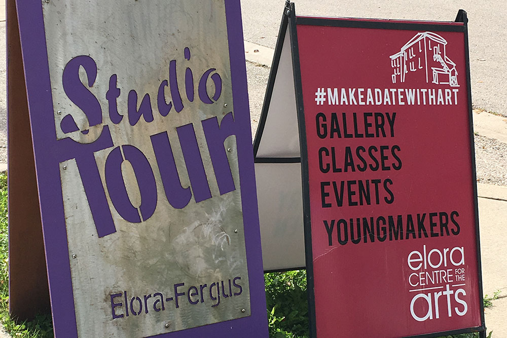 Studio Tour Signs