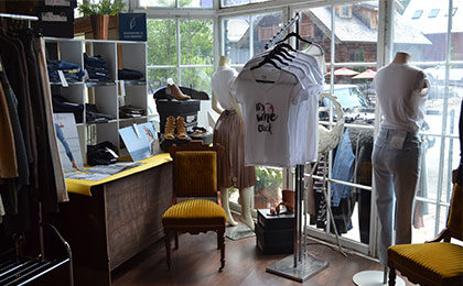 Inside Lucy's Boutique