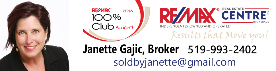 Janette Gajic Broker at RE/MAX
