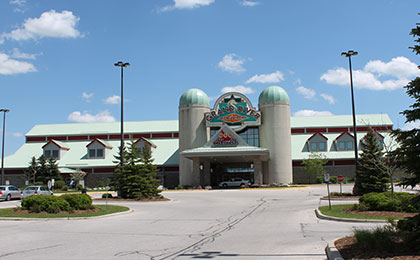 Grand River Raceway building