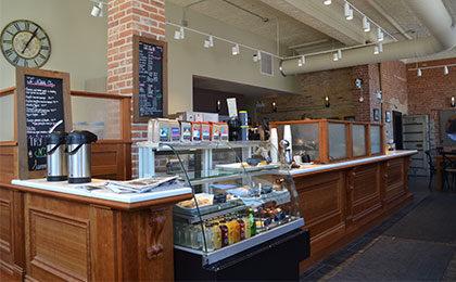 Inside Vault Coffee & Espresso Bar